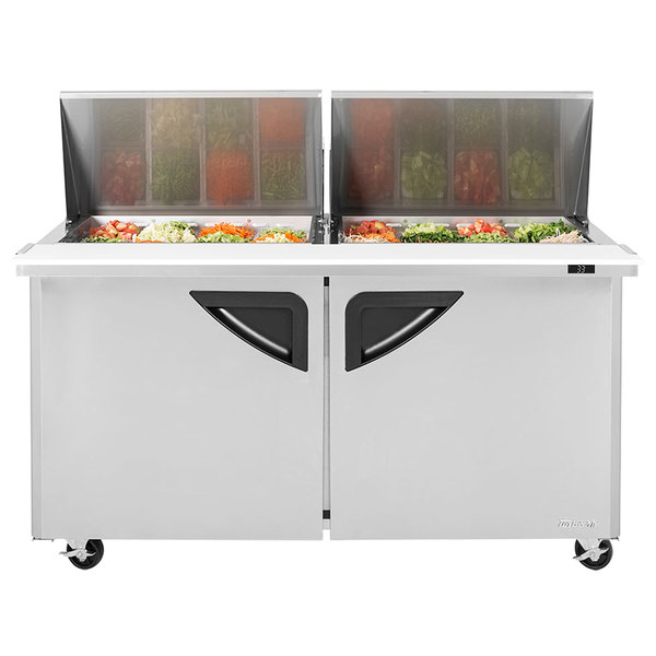 Turbo Air Super Deluxe  Food Prep Table  60 Mega Top Unit