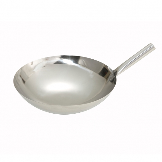 Winco Chinese Wok 14 Riveted Joint