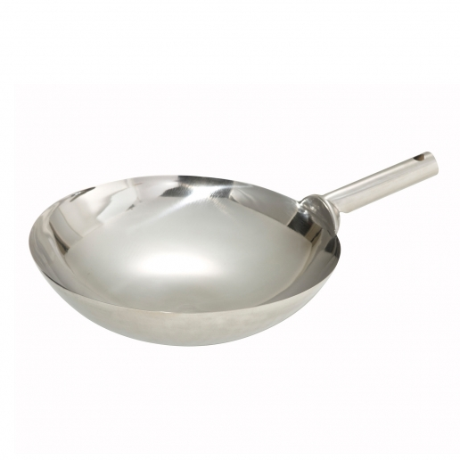 Winco Chinese Wok 16 Welded Hdl